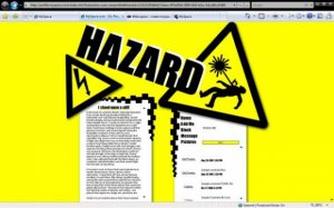 Hazard (For Myspace)