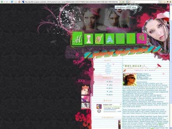 Graphics adult myspace