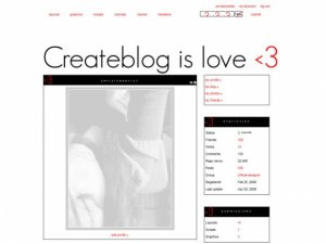 Createblog is love