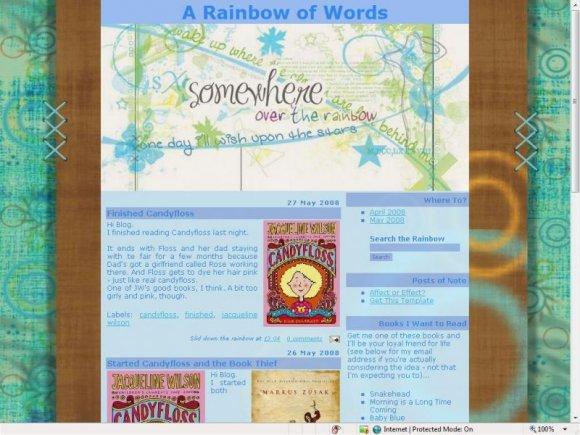 recipe blog background