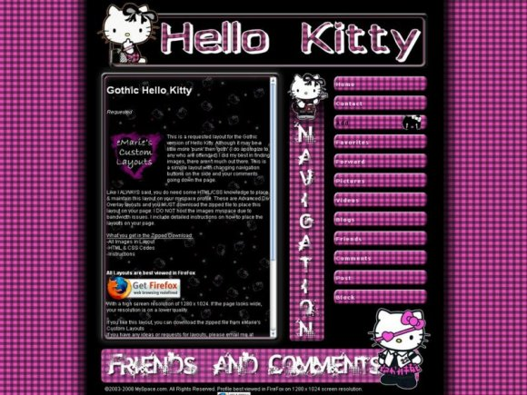 Xxx Myspace Layouts 68
