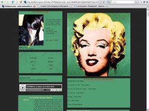 Andy Warhol's Marilyn Monroe.