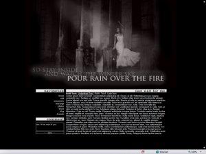 Rain Over The Fire