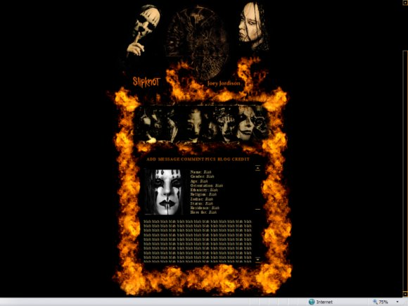 joey jordison wallpaper. Joey Jordison Of Slipknot