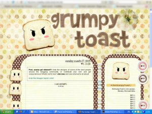 The Grumpy Toast