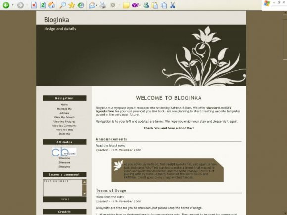 myspace.com/katinkalayouts