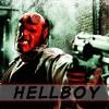 Hellboy has a gun =X