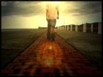 Walk through the light