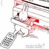 Bunny suicide!