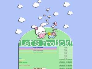 Let's Frolick!