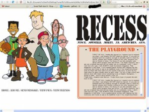 It's time for Recess!