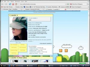 super mario with cursor :)