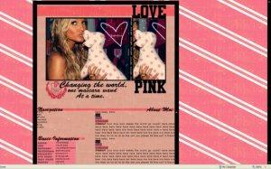 Victoria's Secret: Ashlee Simpson