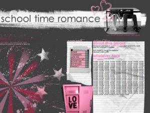 school time romance